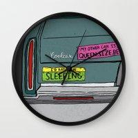 If I Had a Car Wall Clock