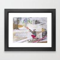 Takeover Framed Art Print