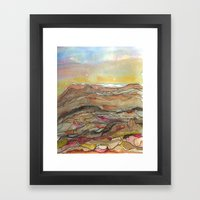 Rocky Top Framed Art Print