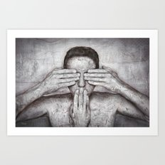 Time out ! Art Print