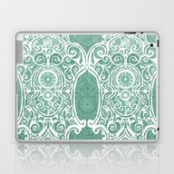 Arsenic And Clock Lace Laptop & iPad Skin