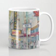 Broadway,  New York - Five O'Clock Revised Mug