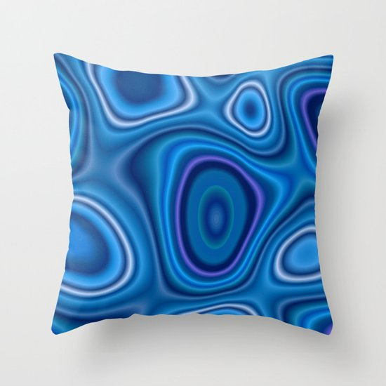 Swirls of Affection Throw Pillow