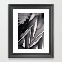 Paper Sculpture #8 Framed Art Print