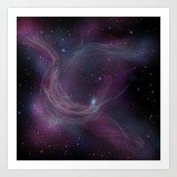 Nebula IX Art Print