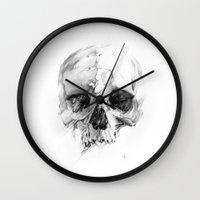 Skull 46 Wall Clock