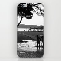 Beach iPhone & iPod Skin