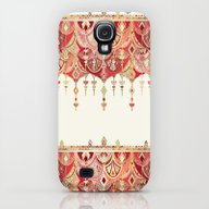 Royal Red Art Deco Doubl… Galaxy S4 Slim Case