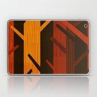 Retro Fall Woods By Friz… Laptop & iPad Skin