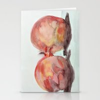breakfast for two Stationery Cards