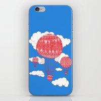 Hot Air Balloon iPhone & iPod Skin