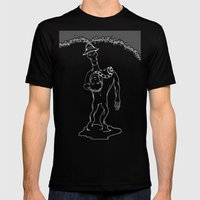 Self-Sacrifice Mens Fitted Tee Black SMALL