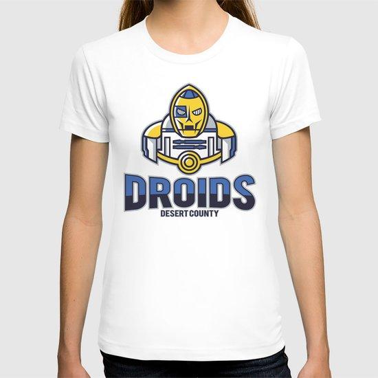 Desert County Droids T-shirt