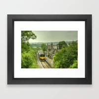 Summertime at Umberleigh  Framed Art Print