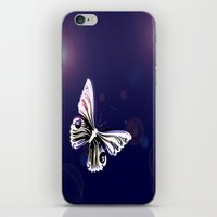 One Butterfly iPhone & iPod Skin