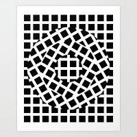 What Goes Around Comes Around 01 Art Print
