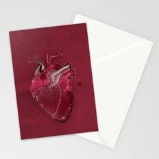 Digital Heart Stationery Cards