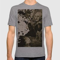 Penser : Combat mental. Mens Fitted Tee Athletic Grey SMALL