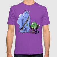 Hike And Chulley Mens Fitted Tee Ultraviolet SMALL