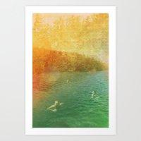 Lake Memory Art Print