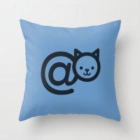 C@ Throw Pillow