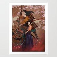 The Spirit Of Tomoe Goze… Art Print