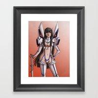 Satsuki-Kill La Kill Framed Art Print