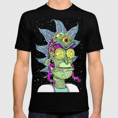 Monster Rick SMALL Mens Fitted Tee Black