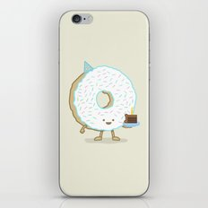 The Birthday Party Donut iPhone & iPod Skin