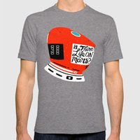 Life On Mars? Mens Fitted Tee Tri-Grey SMALL
