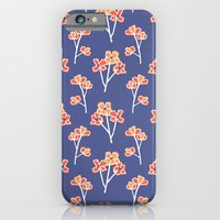 anemone flowers :: lavender iPhone 6 Slim Case