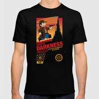 Tower Of Darkness Mens Fitted Tee Black SMALL