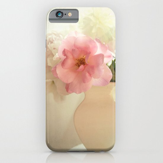 the pink rose iPhone & iPod Case