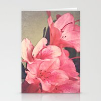 Strawberry Flowers Stationery Cards