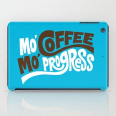 Mo' Coffee Mo' Progress iPad Case