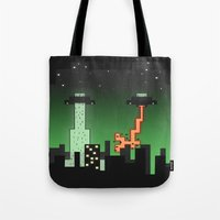 Suprise Arrival From An Unknown Planet! Tote Bag