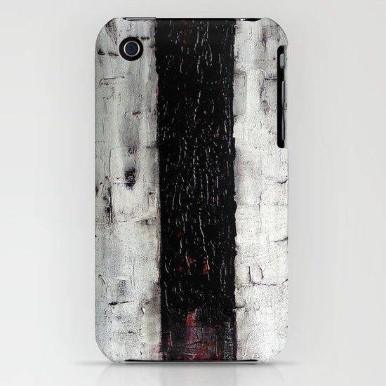 Dark Path - Black and white abstract iPhone & iPod Case