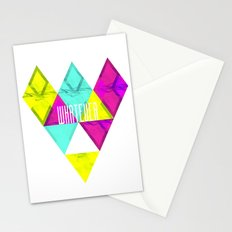 Paper Triangles ▵WHATEVER▵ Stationery Cards