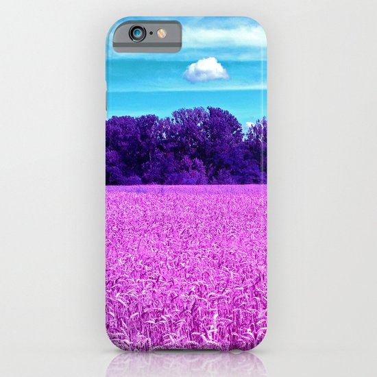 purple corn field I iPhone & iPod Case