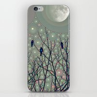 A Dawning With Black Bir… iPhone & iPod Skin