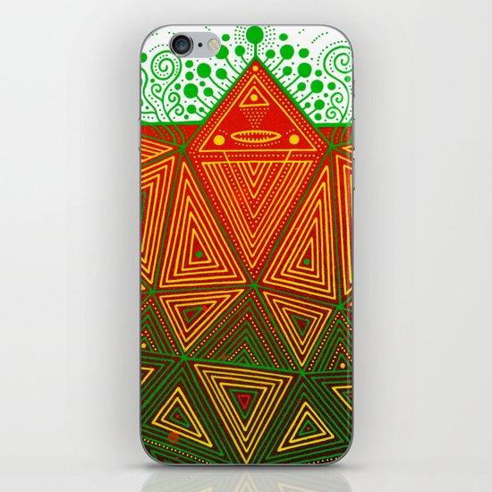 Yello Warrior iPhone & iPod Skin