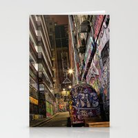 Graffiti Lane Stationery Cards