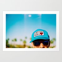 California Is For Lovers Art Print