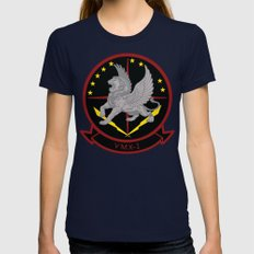 VMX-1 Womens Fitted Tee Navy SMALL