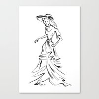 1950's Series Canvas Print
