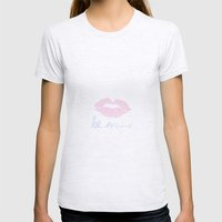 Be Mine  Womens Fitted Tee Ash Grey SMALL