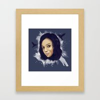 Blue Harmony  Framed Art Print
