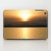 Golden Sunset iPad Case