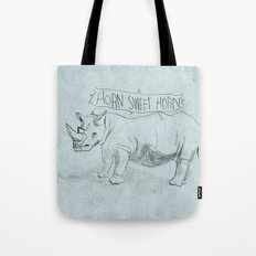 HORN SWEET HORN Tote Bag