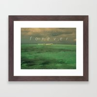 When I fall in love.... Framed Art Print